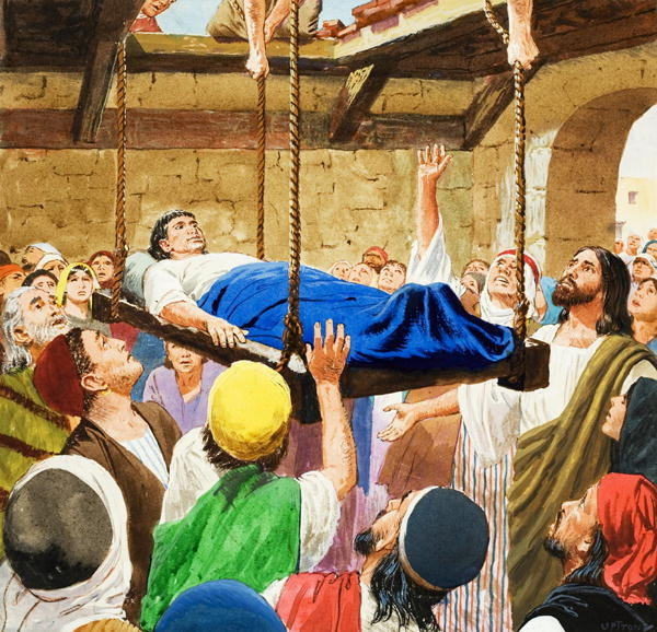 Jesus Cures The Paralytic